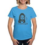 I'm With Stupid (JC Edition) Women's Dark T-Shirt