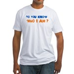 Who I Am Fitted T-Shirt