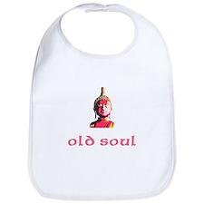 New Baby Old Soul Bib