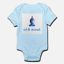 New Baby Old Soul Infant Creeper