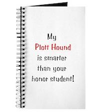 My Plott Hound is smarter... Journal