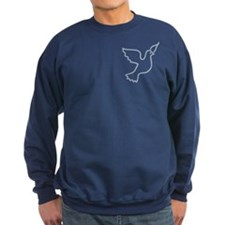 Peace Dove Blue Light Sweatshirt