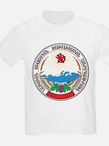 Armenia SSR Coat Of Arms T-Shirt