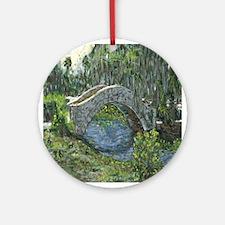 New Orleans Art Bridge Ornament (Round)