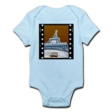 Eiffel Tower Negative Infant Bodysuit