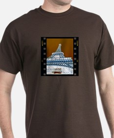 Eiffel Tower Negative T-Shirt