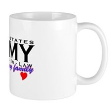 US Army Daughter-In-Law Mug