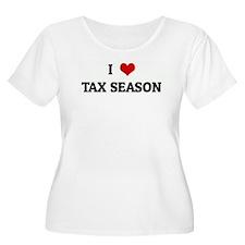 I Love TAX SEASON T-Shirt