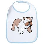 Bulldog gifts for women Bib