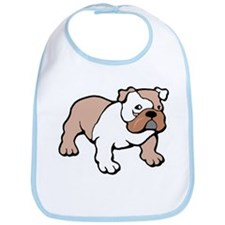 Bulldog gifts for women Bib