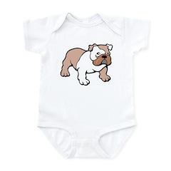 Bulldog gifts for women Infant Creeper
