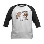 Bulldog gifts for women Kids Baseball Jersey
