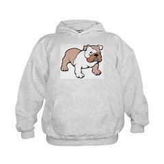 Bulldog gifts for women Hoodie