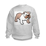 Bulldog gifts for women Kids Sweatshirt