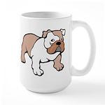 Bulldog gifts for women Large Mug