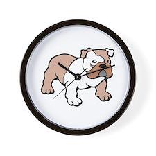 Bulldog gifts for women Wall Clock