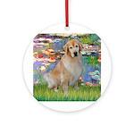Lililes (#2)-Golden 10 Ornament (Round)