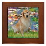 Lililes (#2)-Golden 10 Framed Tile