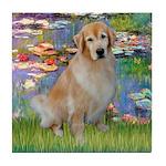 Lililes (#2)-Golden 10 Tile Coaster