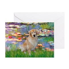 Lililes (#2)-Golden 10 Greeting Cards (Pk of 20)