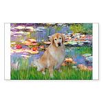 Lililes (#2)-Golden 10 Sticker (Rectangle 10 pk)