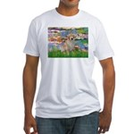 Lililes (#2)-Golden 10 Fitted T-Shirt