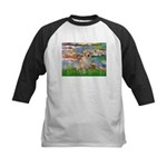 Lililes (#2)-Golden 10 Kids Baseball Jersey