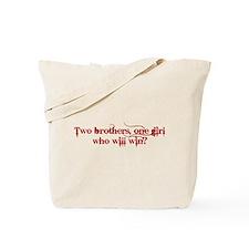 Two Brothers Damon Tote Bag