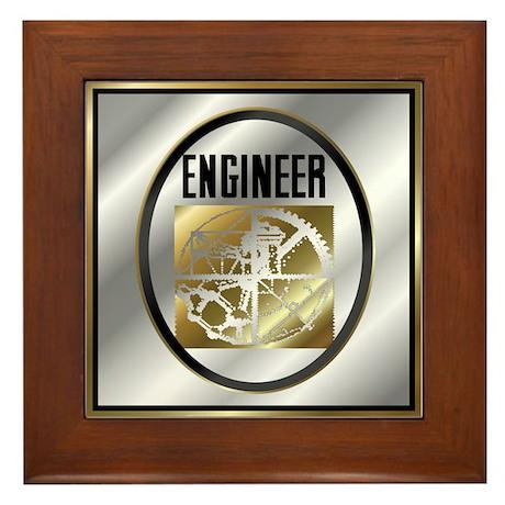 Engineers Framed Tile