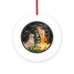 MidEve-Golden 11 Ornament (Round)