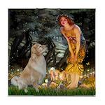 MidEve-Golden 11 Tile Coaster