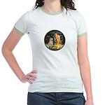 MidEve-Golden 11 Jr. Ringer T-Shirt