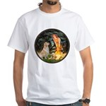 MidEve-Golden 11 White T-Shirt