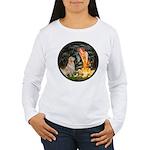 MidEve-Golden 11 Women's Long Sleeve T-Shirt