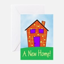 A New Home Greeting Card