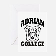 adrian college bulldog wear Greeting Cards (Pk of