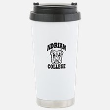 adrian college bulldog wear Travel Mug