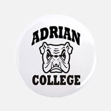 "adrian college bulldog wear 3.5"" Button"