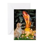 MidEve-Golden 11 Greeting Cards (Pk of 10)