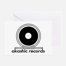 Akashic Records Greeting Card