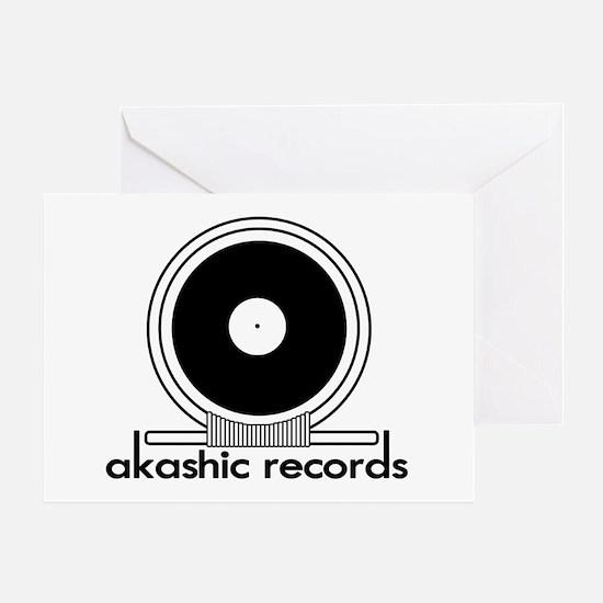 Akashic Records Greeting Card