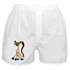 Big Siamese Kitty Boxer Shorts