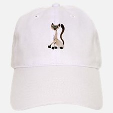 Big Siamese Kitty Baseball Baseball Cap