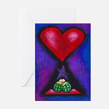 Turtles in Love Greeting Cards (Pk of 10)