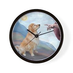 God's Golden (#11) Wall Clock