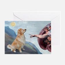 God's Golden (#11) Greeting Card