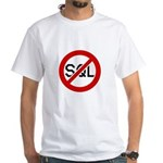 """No SQL"" White T-Shirt"