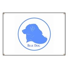 Blue Dog Logo Banner