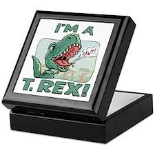 I'm a T. Rex Keepsake Box