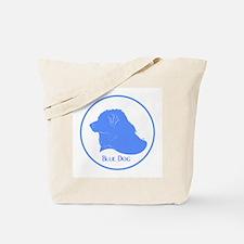 Blue Dog Logo Tote Bag